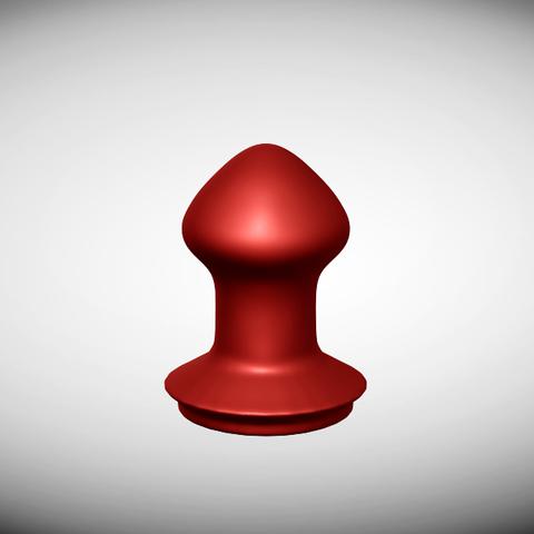 plug-head-1.png Download STL file Smooth Plug • Template to 3D print, RileyAndEllie