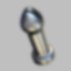 plug-smooth-2.png Download STL file Butt Tool • 3D printer model, RileyAndEllie