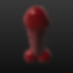 Download 3D printer designs Red Devil Dildo, RileyAndEllie