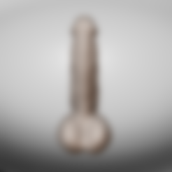 Download STL file Super Cock! • 3D printer object, RileyAndEllie
