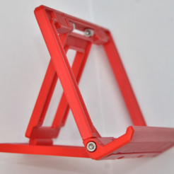 Capture d'écran 2017-06-20 à 09.45.08.png Download free STL file Foldable tilting tablet/phone stand • 3D printer template, _MSA_