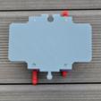 Download free 3D printer designs kea Brio railroad crossing, _MSA_