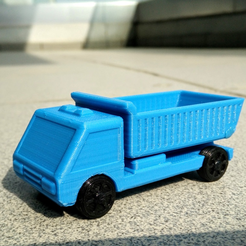 Download free 3D printer designs Dumper/tipper truck, _MSA_