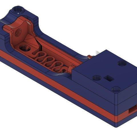 Free 3D printer files 18650 charger microUSB on TP4056, _MSA_