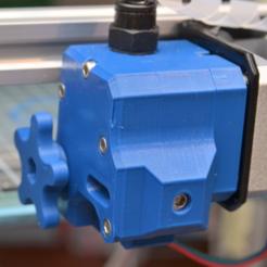 Imprimir en 3D gratis Extrusora Drakon reforzada, _MSA_