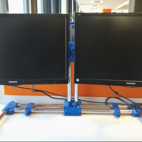 Capture d'écran 2018-01-17 à 15.31.33.png Download free STL file Modular dual monitor stand • 3D printer object, _MSA_