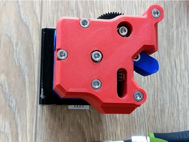 1ee5e5d102a61d2c149adb7223171445_preview_featured.jpg Download free STL file dTitan Geared Extruder • 3D printer template, _MSA_