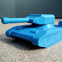 Imprimir en 3D gratis Tanque, _MSA_
