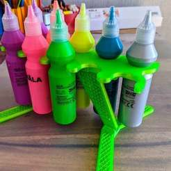 Download free 3D printer templates IKEA paints stand holder, _MSA_