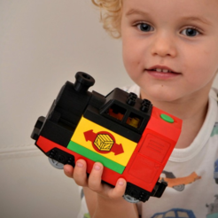 Objet 3D gratuit LEGO Duplo Train (steam locomotive), _MSA_