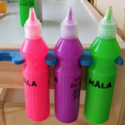Free 3d printer designs Ikea paints holder, _MSA_
