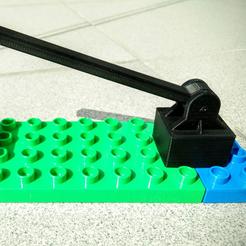 Free LEGO Duplo barrier (gate) 3D model, _MSA_