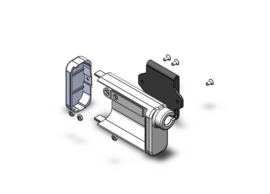 Eclatée.PNG Download free STL file Hull for insulin pump Animas Vibes. • Model to 3D print, kamikase38