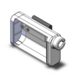 Pompe Animas Vibe.PNG Download free STL file Hull for insulin pump Animas Vibes. • Model to 3D print, kamikase38