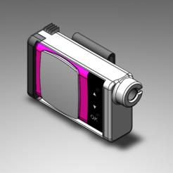 Free 3D model Hull for insulin pump Animas Vibes., kamikase38