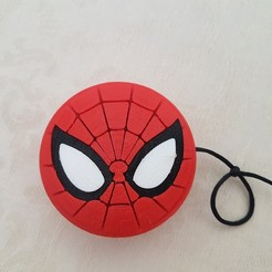 Download free 3D printing designs Spiderman yoyo, lolo_aguirre
