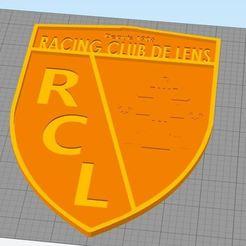 1.JPG Download STL file RCLens logo • 3D printer object, ekrasator007