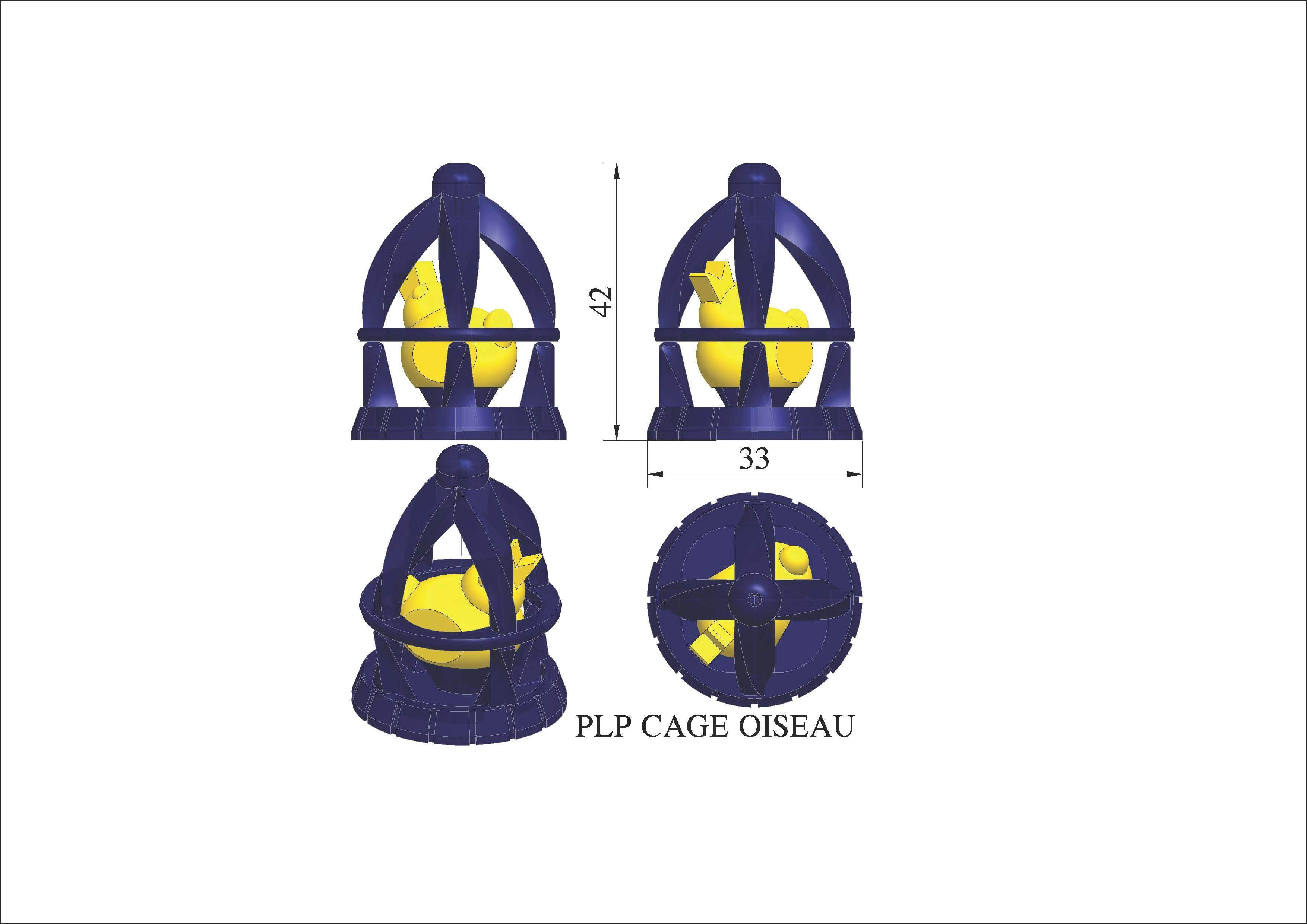 plp-cage-oiseau.jpg Download free STL file PLP BIRD IN A CAGE • 3D printer model, PLP