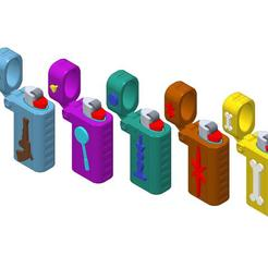 Download free 3D printing files PLP LIGHTERS HOLDER, PLP