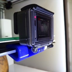 Download free STL file GOPRO ULTIMAKER CLIP • 3D printing object, PLP