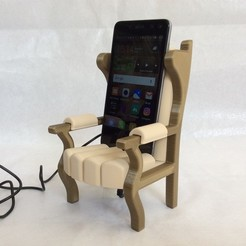 IMG_6451.JPG Download STL file MOBILE PHONE HOLDER MOBILE PHONE HOLDER • 3D printable design, PLP
