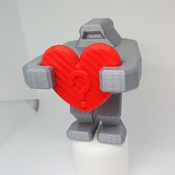 Download free 3D printing files PLP ROBOT HEART, PLP