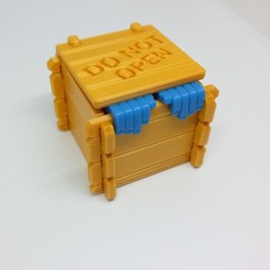 Download free 3D printing designs CHRISTMAS BOX, PLP