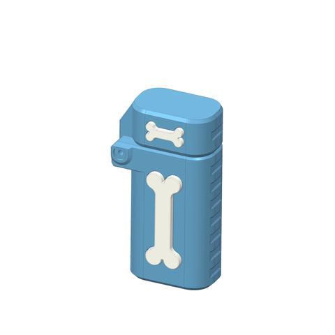 plp-briquet-assemblage-os--.jpg Download free STL file PLP LIGHTERS HOLDER • 3D printer object, PLP