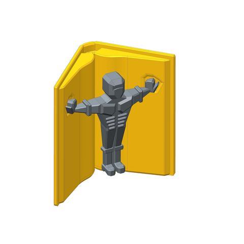 3D print model PLP BOOK TOME 1, PLP
