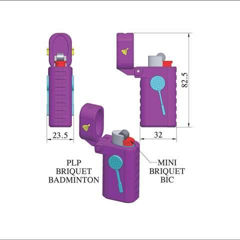 plp-briquet-assemblage-badmint.jpg Download free STL file PLP LIGHTERS HOLDER • 3D printer object, PLP