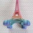 Download STL file EIFFEL TOWER UNIQUE DESIGN • 3D printing object, PLP