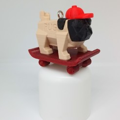 IMG_20200223_161431.jpg Download STL file PUG PUG SKATEBOARD • 3D printing template, PLP