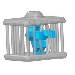 plp-prison-robot-.jpg Download STL file PLB ROBOT IN PRISON • Template to 3D print, PLP