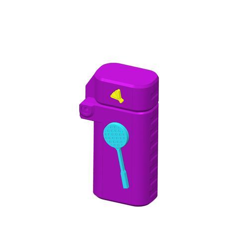 plp-briquet-assemblage-badmint--.jpg Download free STL file PLP LIGHTERS HOLDER • 3D printer object, PLP