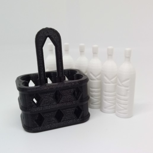 IMG_20200229_105857.jpg Download free STL file BOTTLE CRATE • 3D printing object, PLP