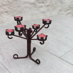 IMG_20200919_101503.jpg Télécharger fichier STL BOUGIES DESIGN TABLE ET FETES • Modèle pour impression 3D, PLP