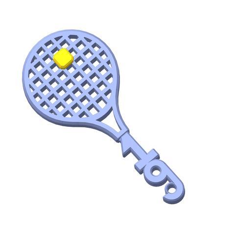 plp-tennis-raquette-balle-19-.jpg Télécharger fichier STL gratuit PLP TENNIS ROGER • Objet pour impression 3D, PLP