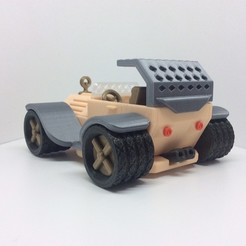 3D print model PLP CONCEPT CAR CAR AUTO, PLP