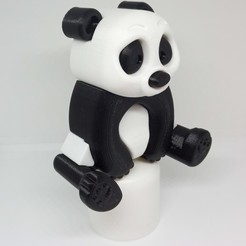 IMG_20200222_185446.jpg Download STL file PLP PANDA • Model to 3D print, PLP