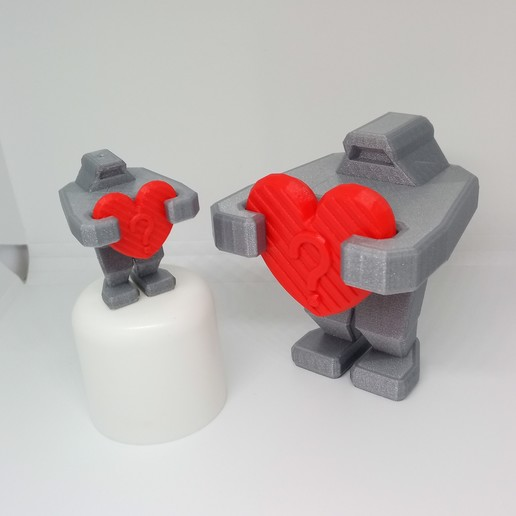 IMG_20200222_161942.jpg Download free STL file PLP ROBOT HEART • 3D printing model, PLP