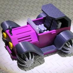 Fichier impression 3D PLP CONCEPT CAR AUTO, PLP