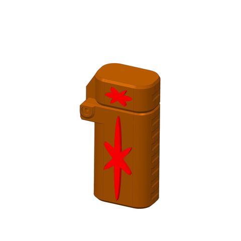 plp-briquet-assemblage-croix--.jpg Download free STL file PLP LIGHTERS HOLDER • 3D printer object, PLP