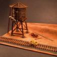 Free 3D printer model HO Scale Hand Pump Car, sthone