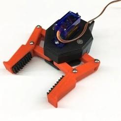 ServoManipulator001.jpg Download free STL file Parallel Gripper for EEZYbotARM MK2 • 3D print design, sthone