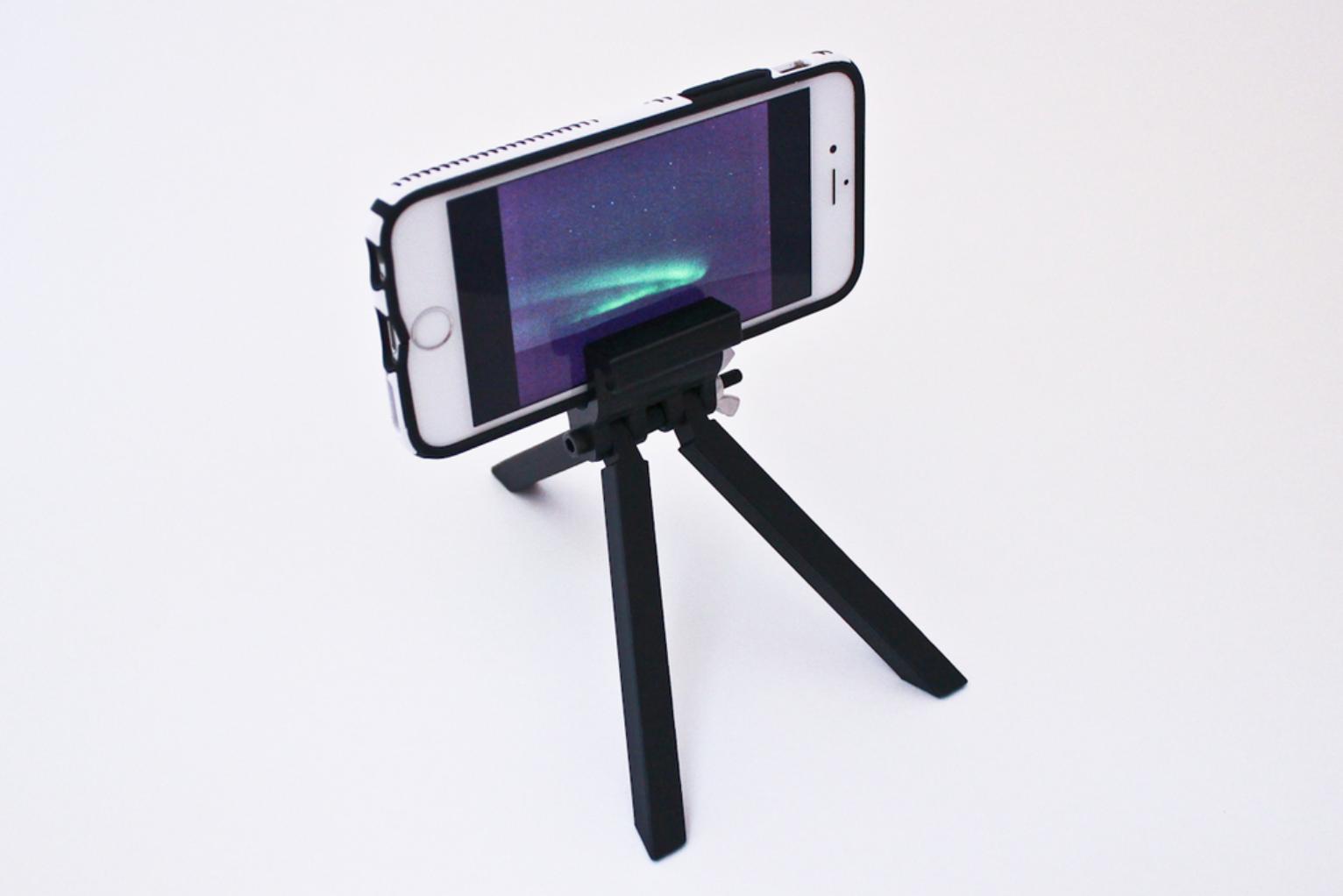 Capture d'écran 2017-11-13 à 11.38.44.png Download free STL file Cell Phone Tripod • 3D print model, sthone