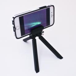 Fichier 3D gratuit Trépied de téléphone portable, sthone