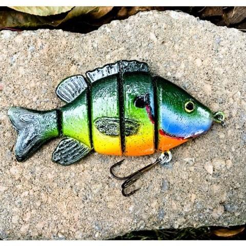 Descargar STL gratis Señuelo Sun Fish Swimbait, sthone