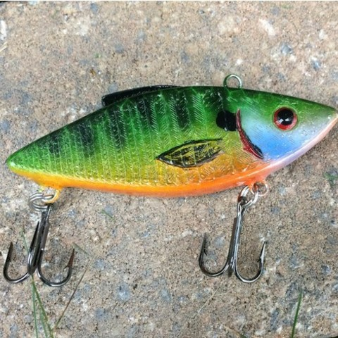 Download free STL files Rattle Trap Fishing Lure, sthone