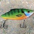 Free STL files Rattle Trap Fishing Lure, sthone