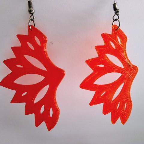 IMG_20190721_132059.jpg Download free STL file Butterfly Earrings • 3D print model, SamiJoe